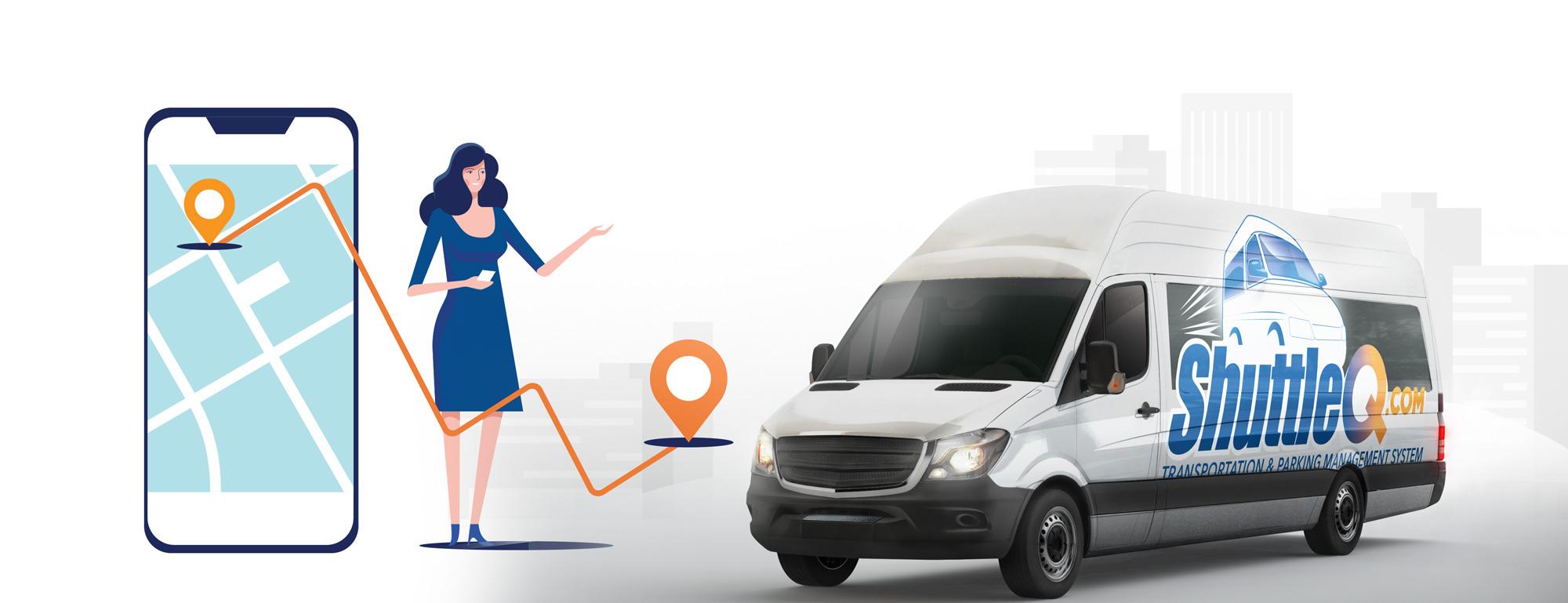 Shuttle Tracking Transportation Management Parking Software